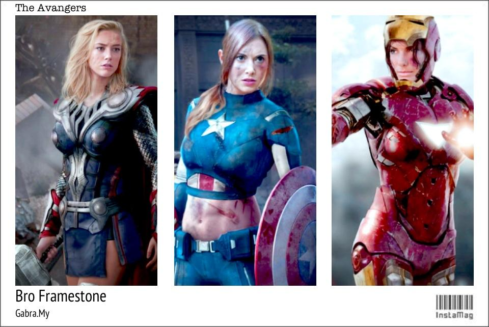 The Avengers Girl – Which One You Prefer