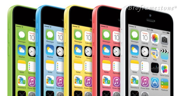 iPhone 5c Malaysia with 5 Color