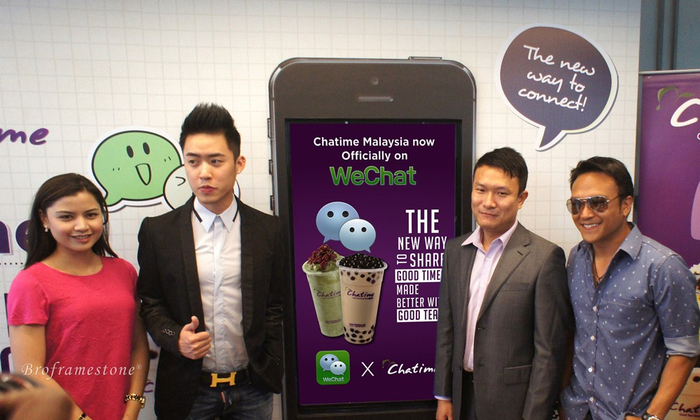 WeChat + Chatime = WeChatime