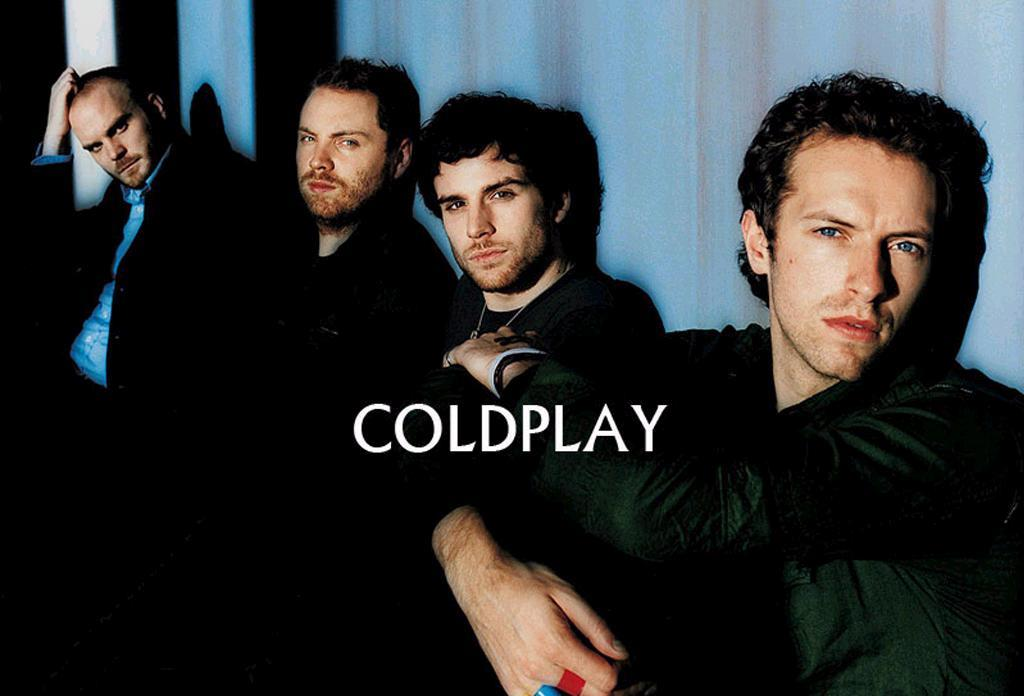 Coldplay Golden Ticket