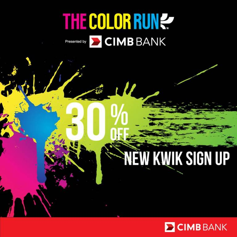 30% Off Register For The Color Run