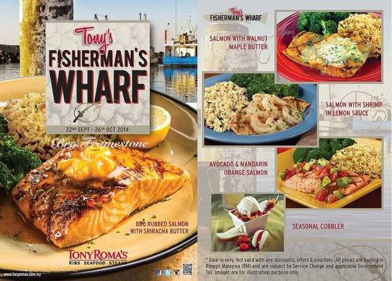 Tony's Fisherman's Wharf  – Oh My Fish