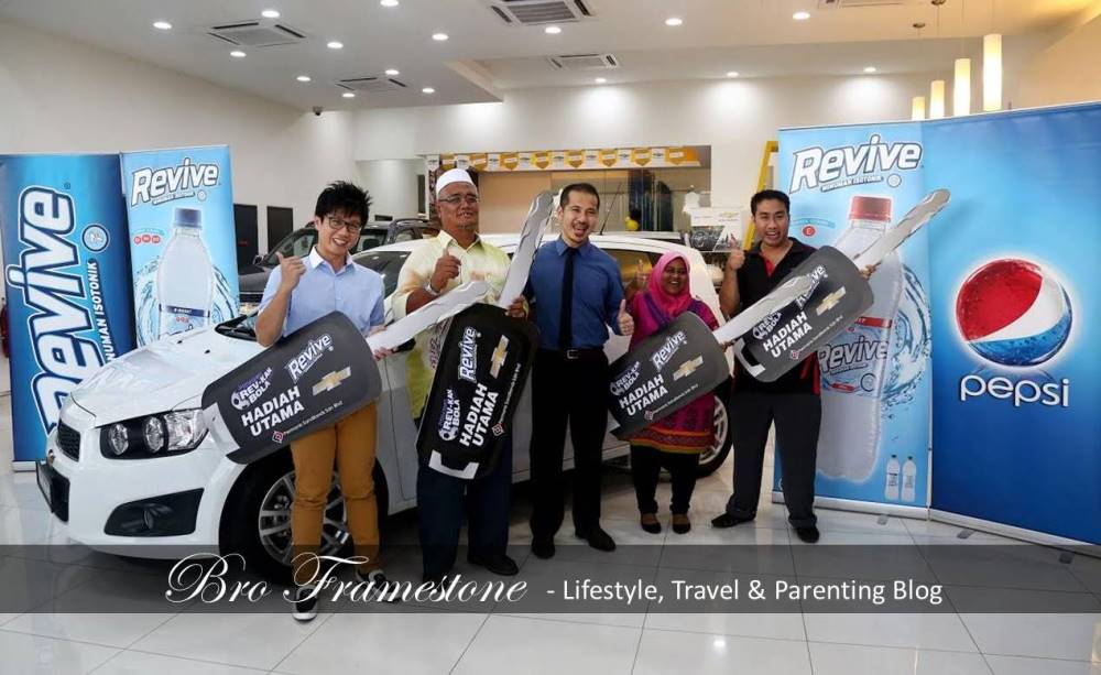 4 Lucky Winner for Revive Isotonic Rev-Kan Bola