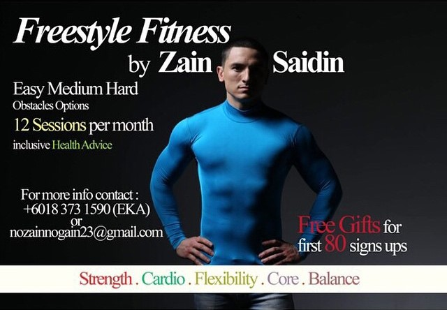 FREESTYLE FITNESS by Zain Saidin