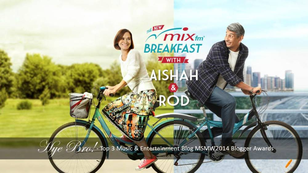 Introducing The New MIX fm Breakfast with Aishah & Rod