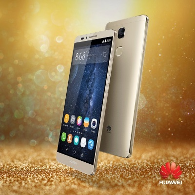 The premium Huawei Mate7 Gold Edition