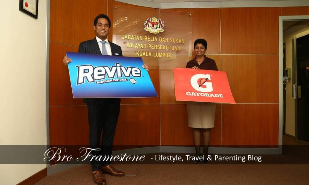 Fit Malaysia Signed a Partnership With Revive Isotonic and Gatorade