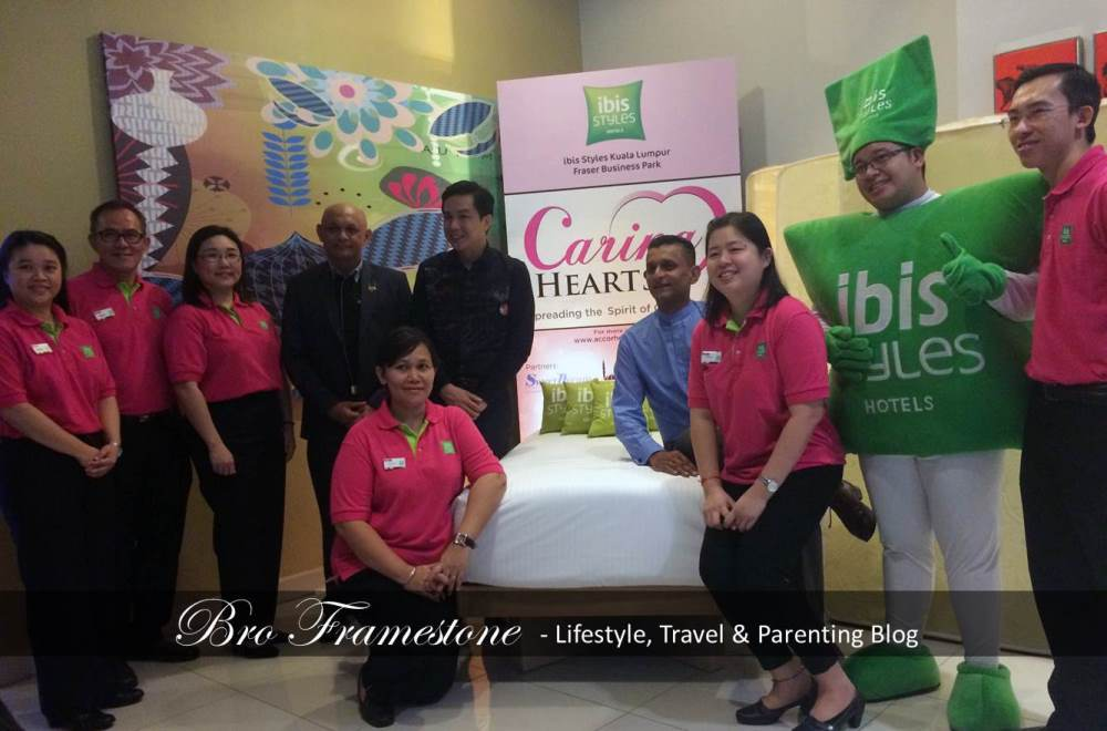 ibis Styles Kuala Lumpur Launches it's CARING HEARTS  Campaign