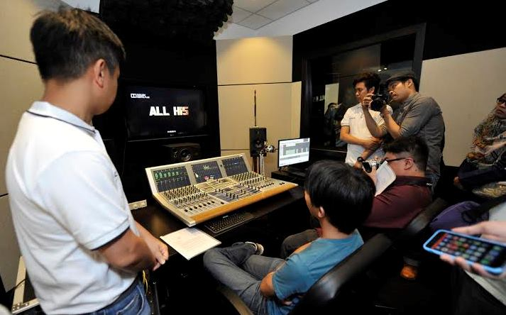 First Ever Dolby 5.1 Surround Sound Media Training Facility