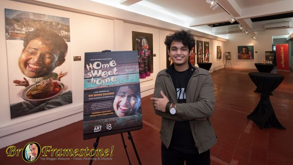 Nik Mohd Shazmie First Solo Art Exhibition