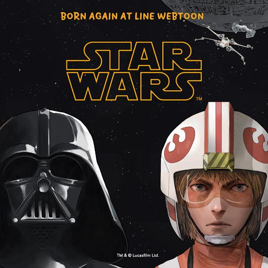 LINE Webtoon – Star Wars Digital Comic Series