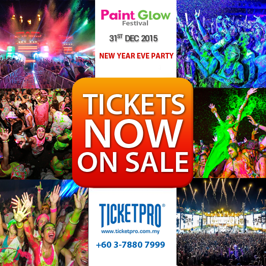 PaintGlow Festival 2015 & New Year Countdown Party