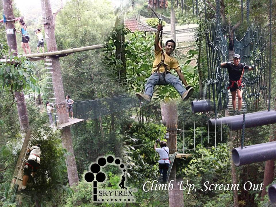 Skytrex Adventure now in Shah Alam and Langkawi