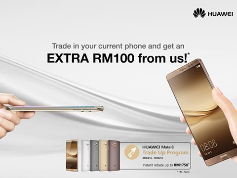 Huawei Trade Up Program