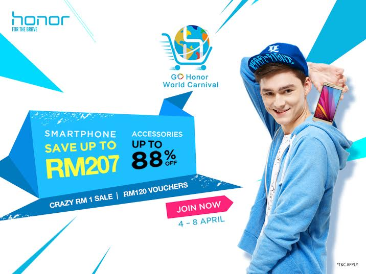 honor World Carnival set to reward Malaysians with amazing deals!