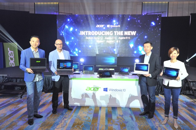 Acer Introduces Latest Innovative Product Lineup for 2016