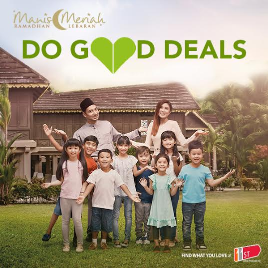 Jom Beli Sambil Memberi with 11street's Do Good Deals!