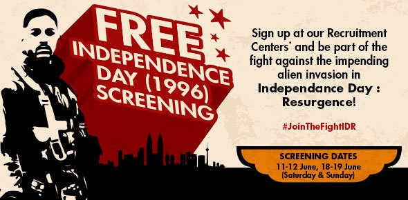 Free Independence Day (1996) Screening