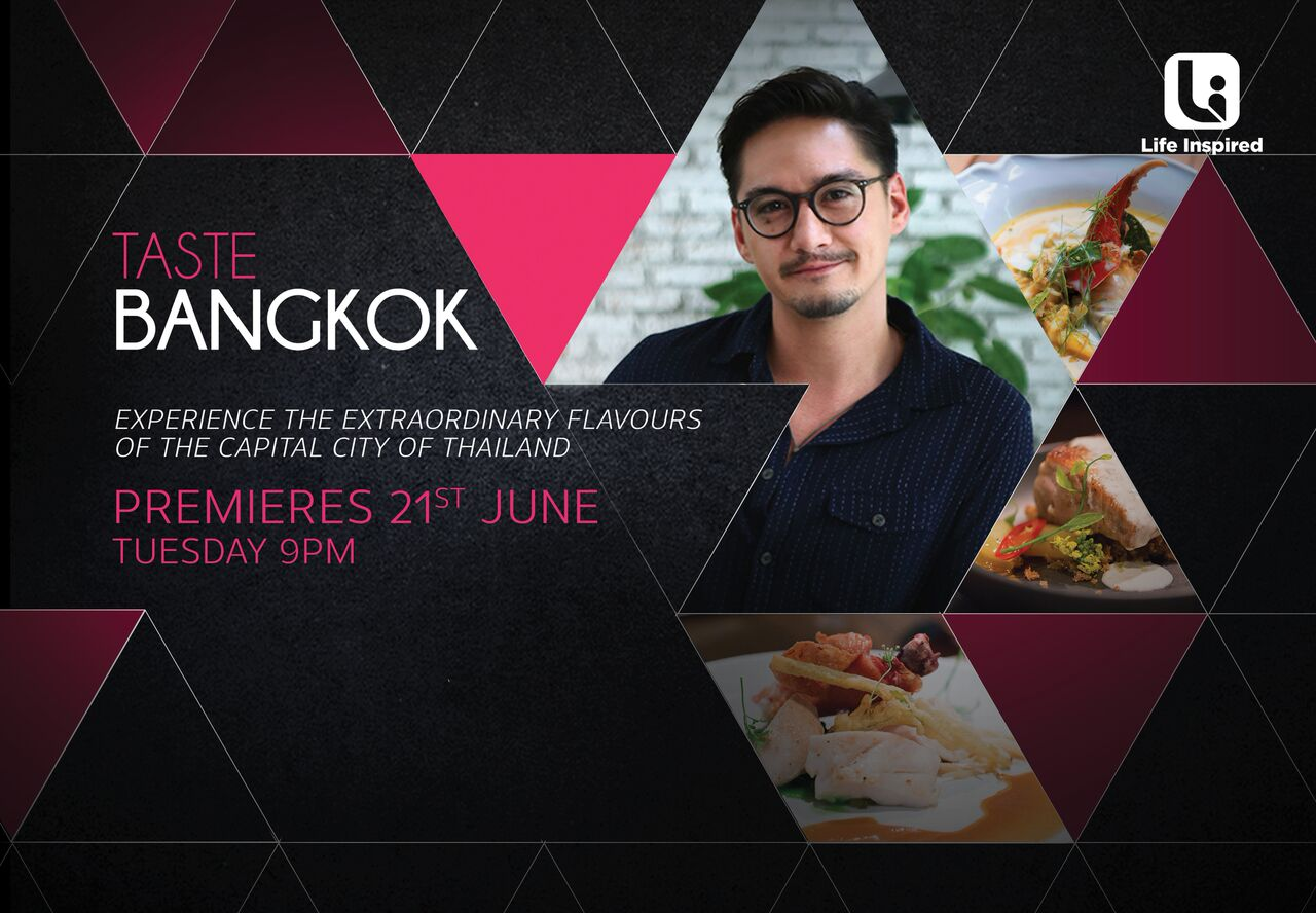 'TASTE BANGKOK' With Thai Film Star Ananda Everingham