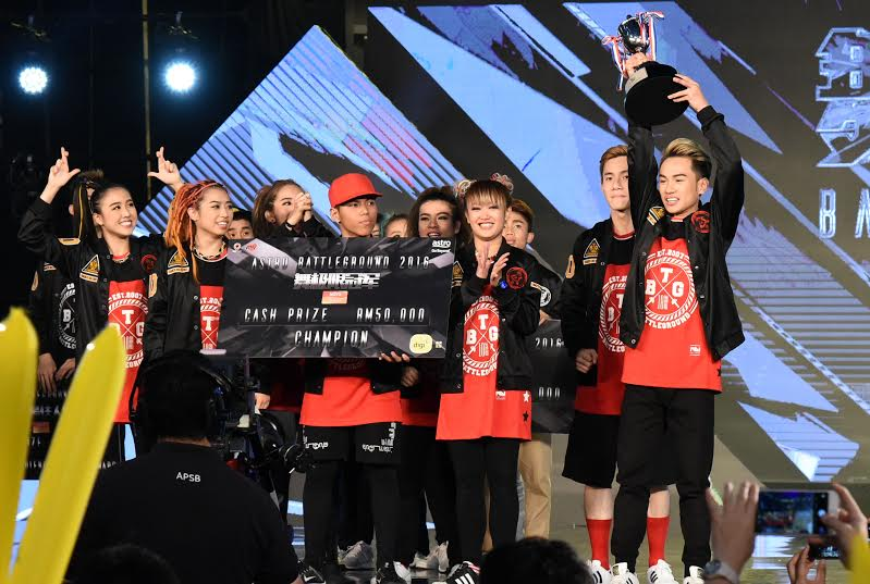 Red Lycans Win Astro Battleground 2016