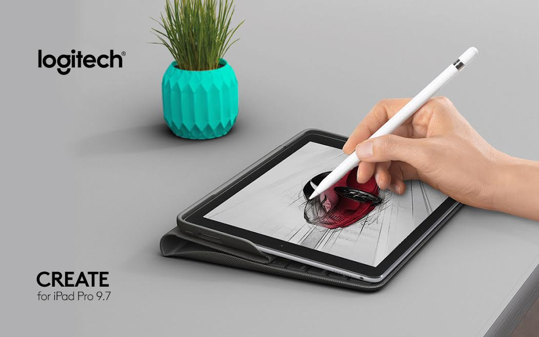 Logitech Introduces CREATE for iPad Pro 9.7
