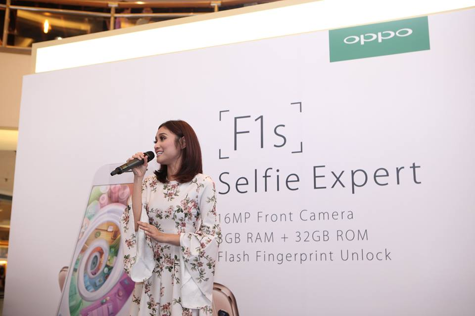 OPPO F1s' Selfie Icon, Ayda Jebat shared to her fans on her favourite selfie tips