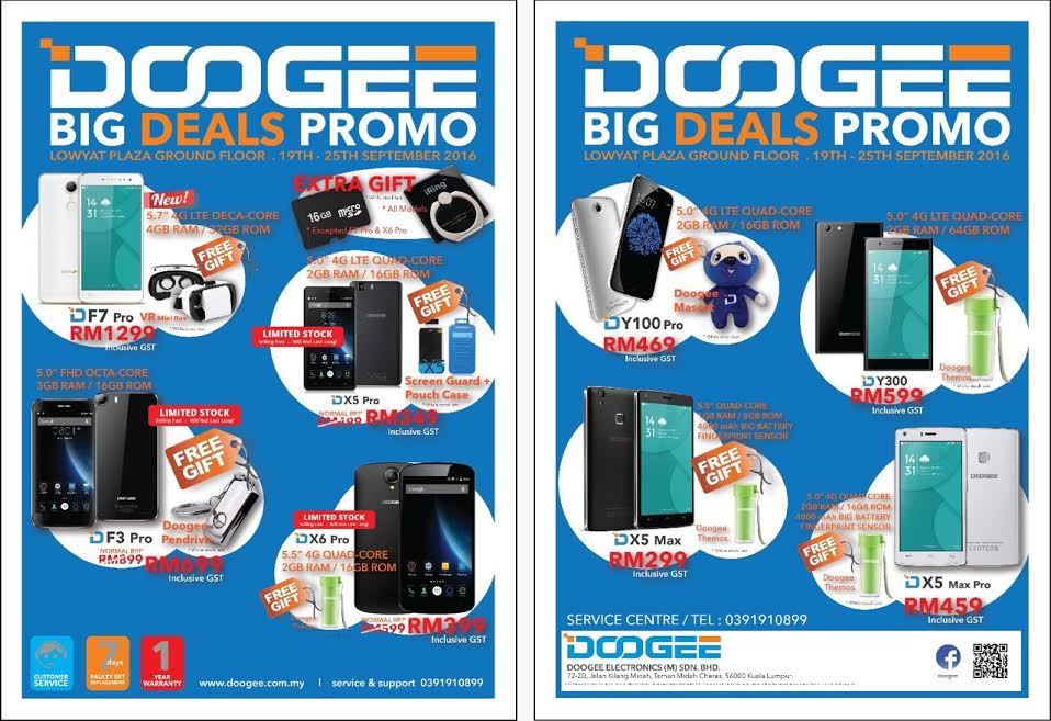 Doogee Big Deals Promotion Roadshow at Lowyat Plaza