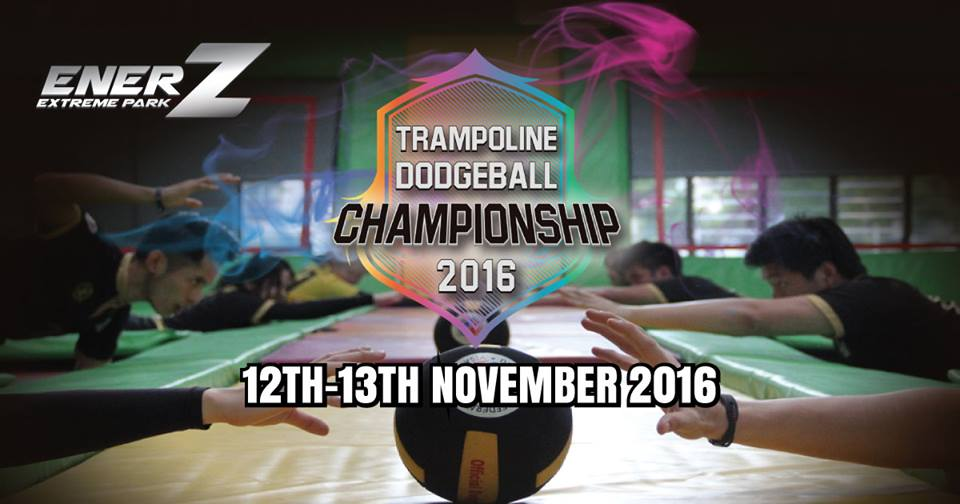Malaysia's Largest Trampoline Dodgeball Championship 2016