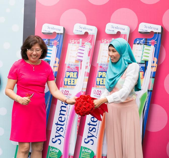 Systema Launches Pre Teen Toothbrush