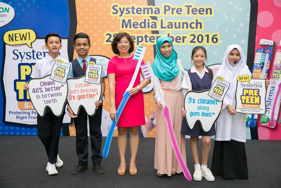 Systema Launches Pre Teen Toothbrush Geng UPSR
