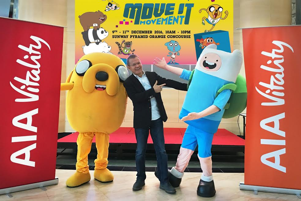 AIA Vitality Joins Forces With Cartoon Network