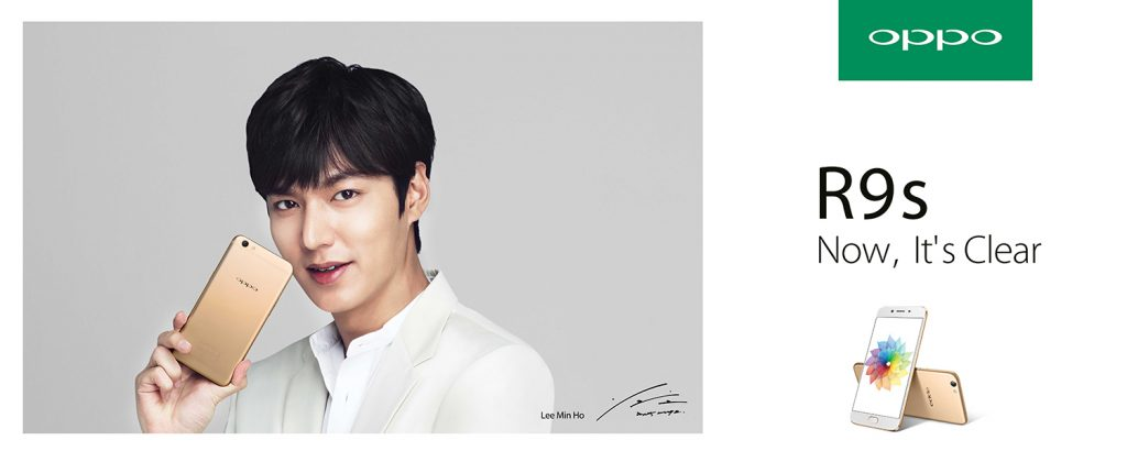 Lee Min-ho New Ambassador of OPPO R9s