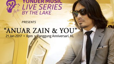 Yonder Music Live Series By The Lake Anuar Zain & You