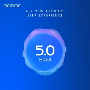EMUI 5.0 honor 8