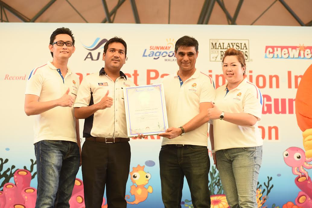 Chewies Enters Malaysia Book Of Records With A Healthy Achievement