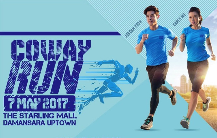 Coway Run on 7 May 2017 at Starling mall, Damansara Uptown
