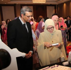 Her Royal Highness The Crown Princess of Pahang Tunku Hajah Azizah Aminah Maimunah Iskandariah Binti Almarhum Almutawakkil Alallah Sultan Iskandar Alhaj