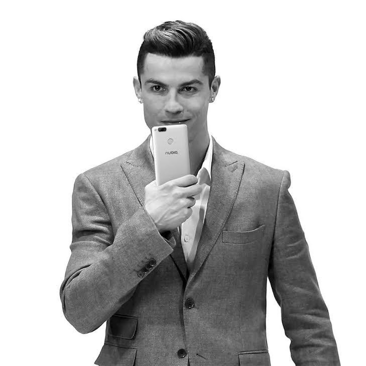 Nubia Smartphone's Brand Ambassador – Cristiano Ronaldo