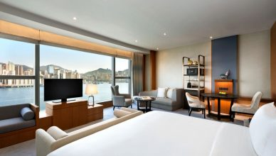 Premier Sea View Room Kerry Hotel, Hong Kong