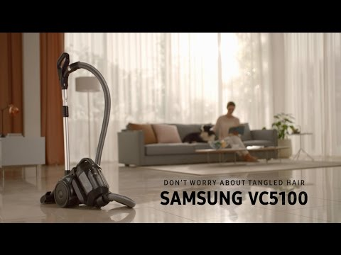 Samsung Anti-Tangle Turbine Vacuum Cleaner