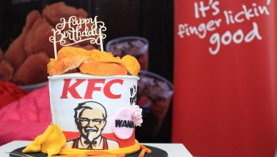KFC Bucket Berganda Birthday Bucket for Wana