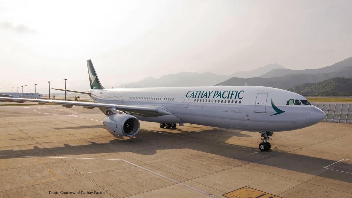 Honeywell & Cathay Pacific Connected Aircraft Test Program
