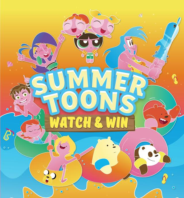 Watch and Win: Tickets to Cartoon Network Amazone Waterpark!