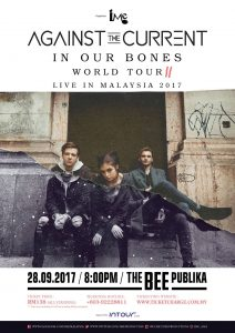 Against The Current World Tour Live In Malaysia