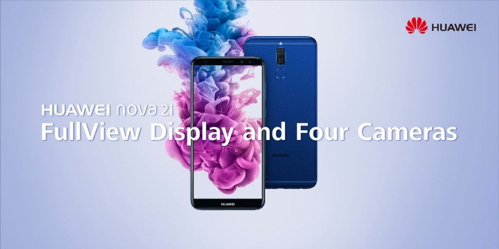 HUAWEI nova 2i FullView Display and Four Cameras