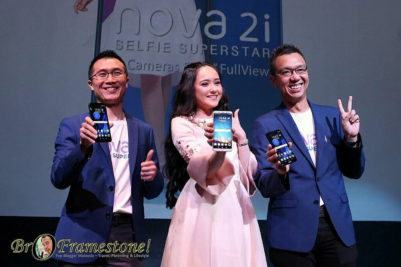 HUAWEI Launches the Nova 2i with Hannah Delisha