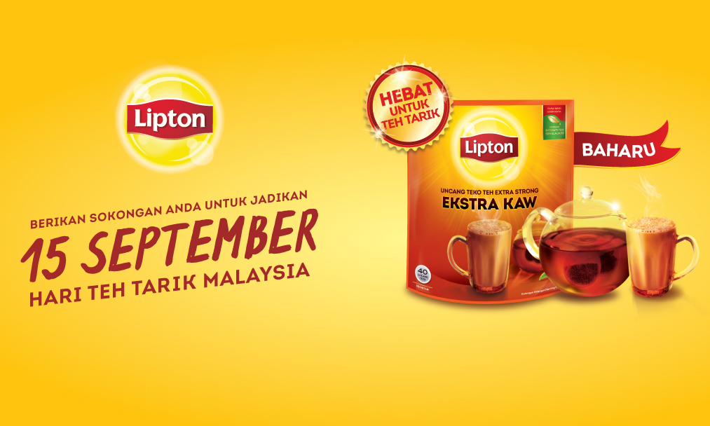 Lipton Pulling Malaysians Together To Make Hari Teh Tarik Malaysia A Reality