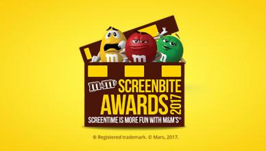 M&M's Screen Bite Awards 2017
