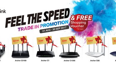 TP-Link's 'Feel the Speed' Trade in Promotion