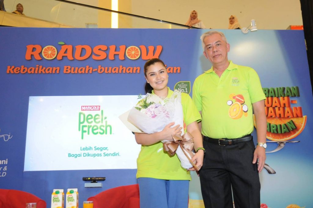 MARIGOLD PEEL FRESH Daily Fruit Goodness Roadshow